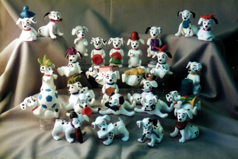 lots of Dalmations for Mcdonald's Happy Meal toy program