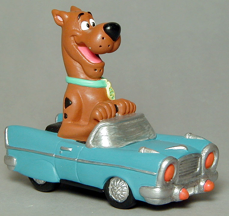 Scooby Do in his Hot Rod for WB Studio Store