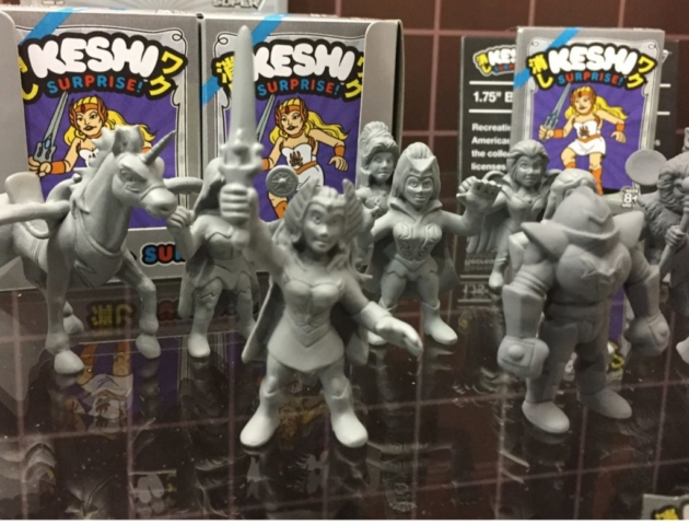 She Ra and He-Man figures for Super Seven