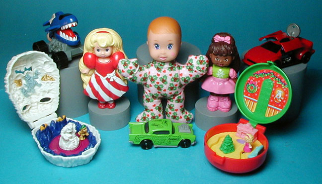 a Happy Meal line based on Mattel Toys for McDonalds