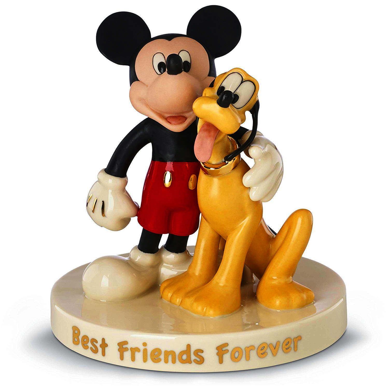 Mickey Mouse and Pluto best friends forever Lenox fine china