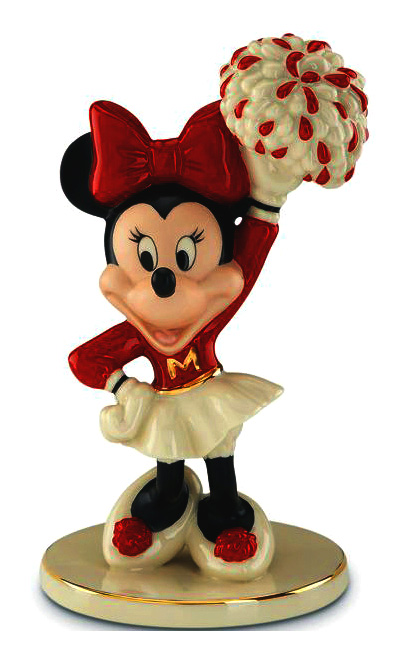 Cheerleader Minnie Mouse fine china Lenox