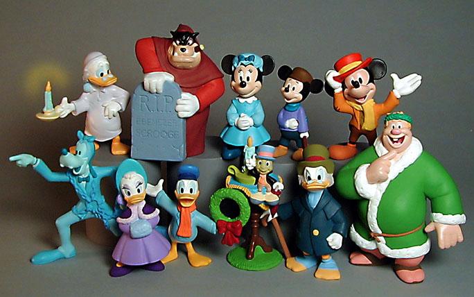 vinyl figures Disney Christmas Carol