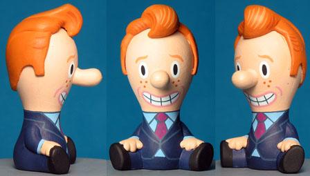 Conan O'Brian  for Cranium toys  -  done for tv show, never used