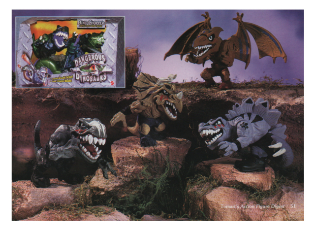 Scary DInosaurs for Mattel large and nasty