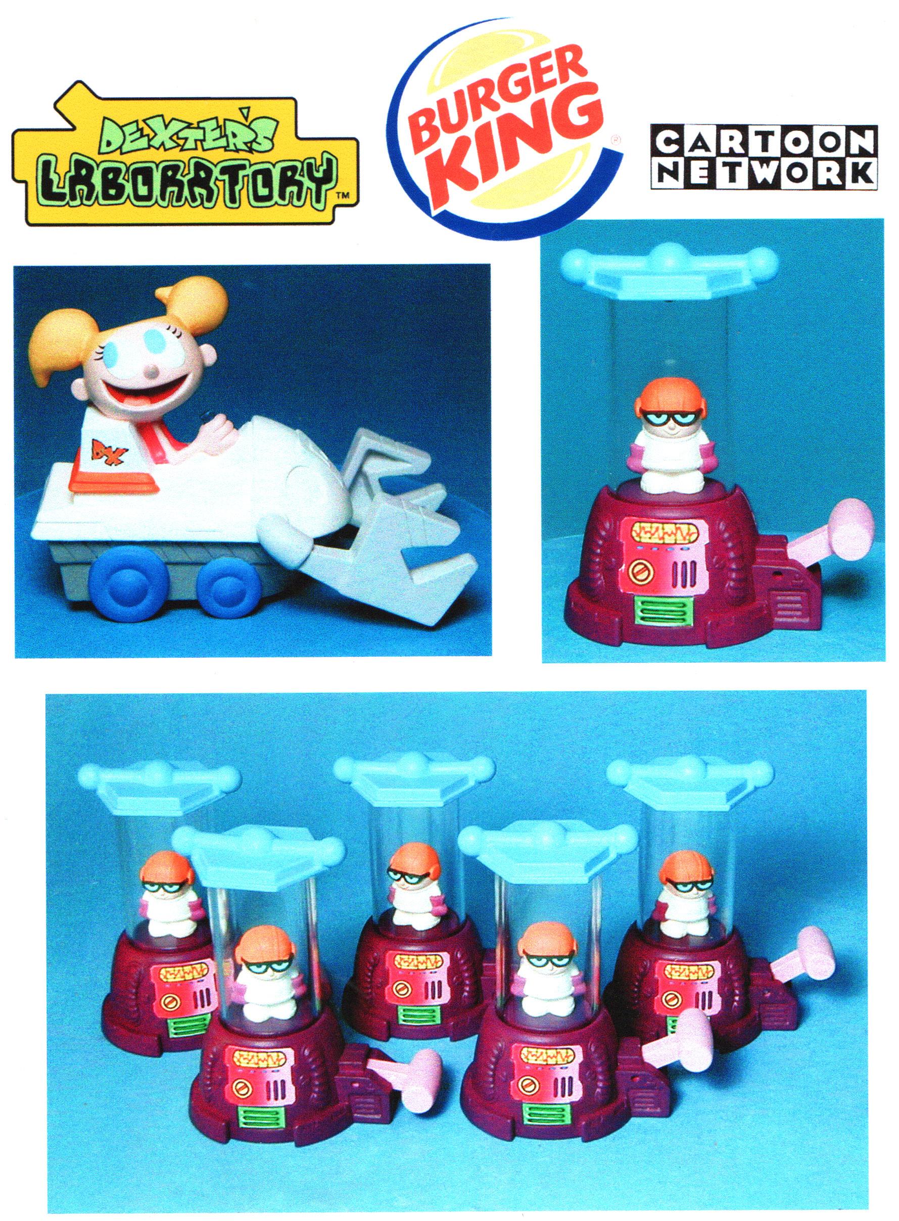 Dexter's Lab Kid's Meal, Burger King