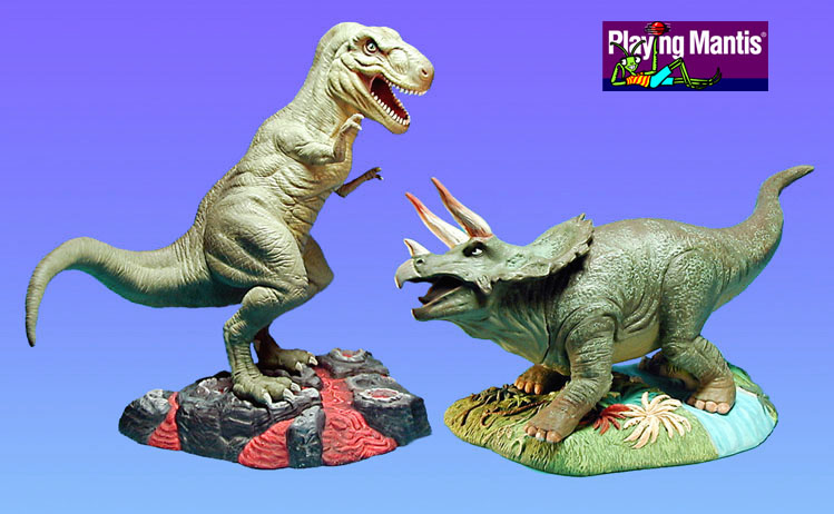 Dinosaur snap together model kits for Playing Mantis