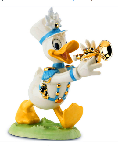 Donald plays the trumpet - Lenox horn playing Disney Duck