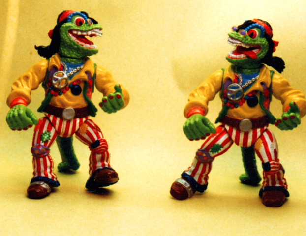 Flower Child Gecko TMNT Playmates toys- decomaster