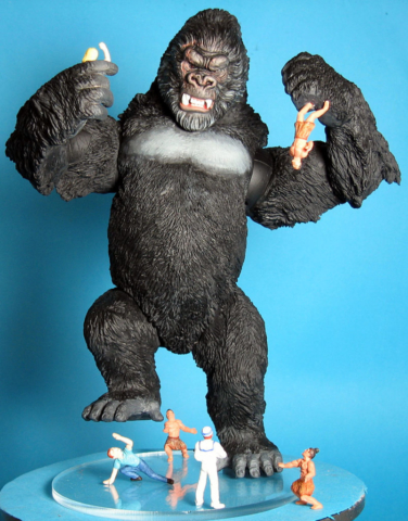 BIg Kong for Playmates King Kong Toys