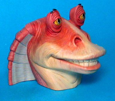 Jar Jar Bank vinyl coin bank