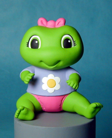 Sitting Frog for Leapfrog - character study - not produced