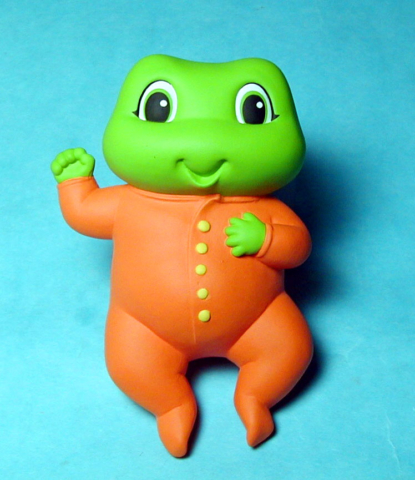 Baby Frog for Leapfrog - character study - not produced