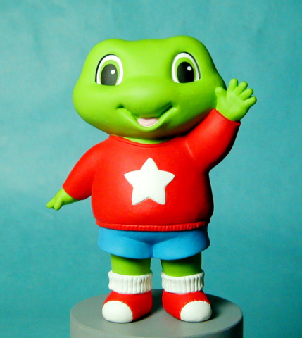 standing Frog for Leapfrog - character study - not produced