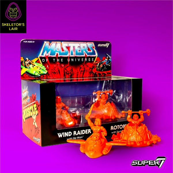 He-Man for Super 7 with vehicles -