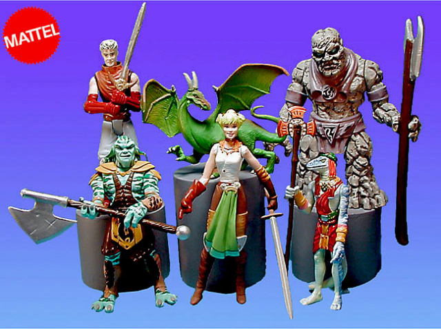 Game figures never produced