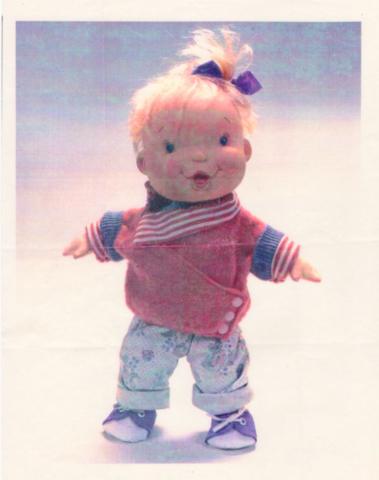Prelim doll design proposal, never produced