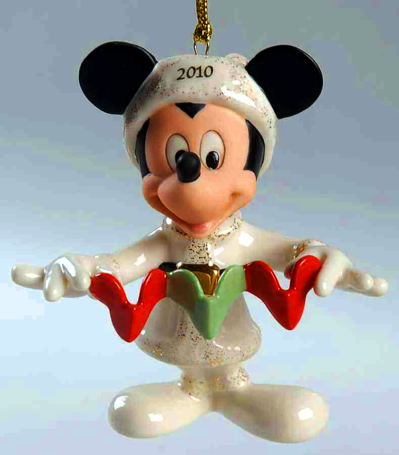 2010 Lenox Disney MIckey Mouse Christmas Tree ornament