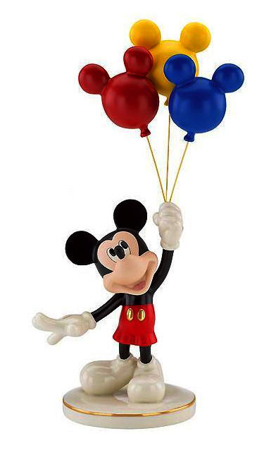 Mickey Balloons - fine china Lenox ceramics