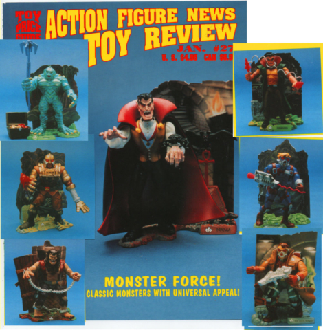 great news review for Monster Force - Frankenstein and Creature from the Black Lagoon