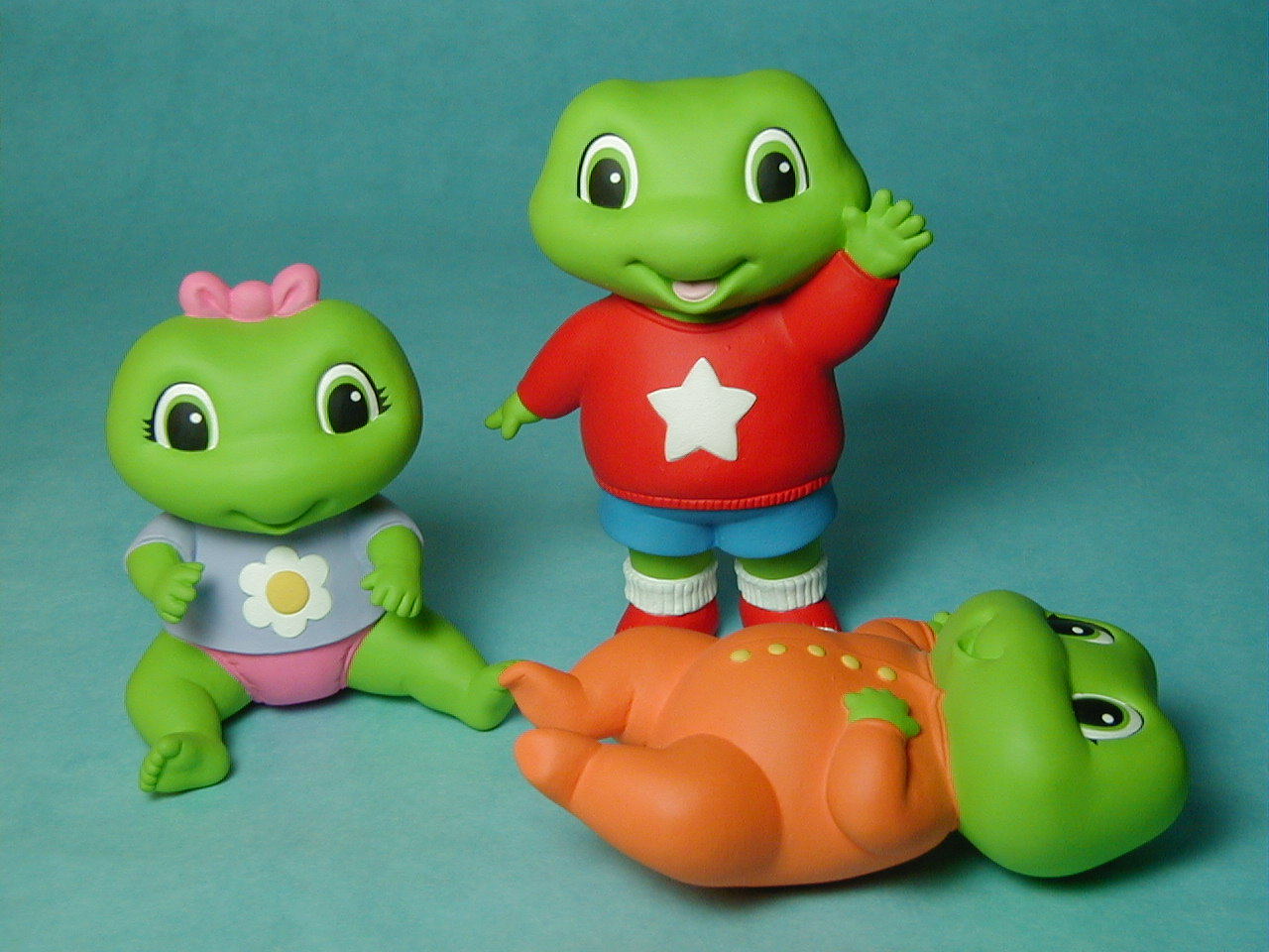 Leapfrog toys froggy character studies - not for production