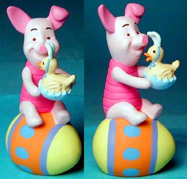 Easter Piglet vinyl figure