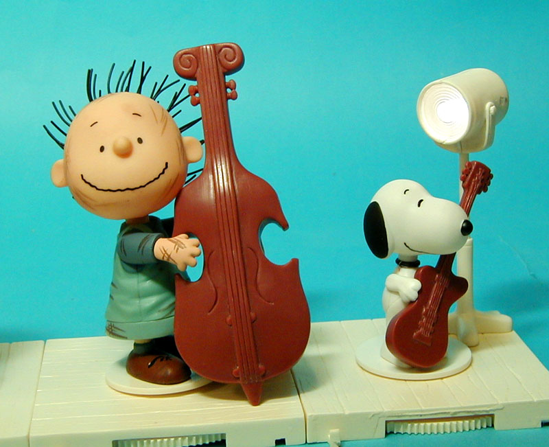 Pigpen and Snoopy