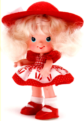 Popsicle gal Doll,  Strawberry?