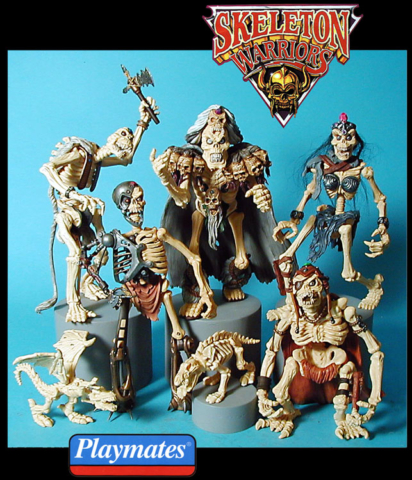 The Skeleton Warriors the next big hit from Playmates toys