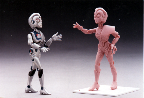 Figure character proposal Blind Wise Robot figure Tomy Toys