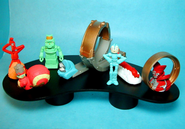Robots Happy Meals painted sample set