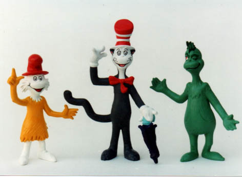 Happy Meal proposal, Dr Seuss figures, never produced
