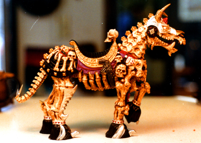 Skeleton Warriors horse, bad guy