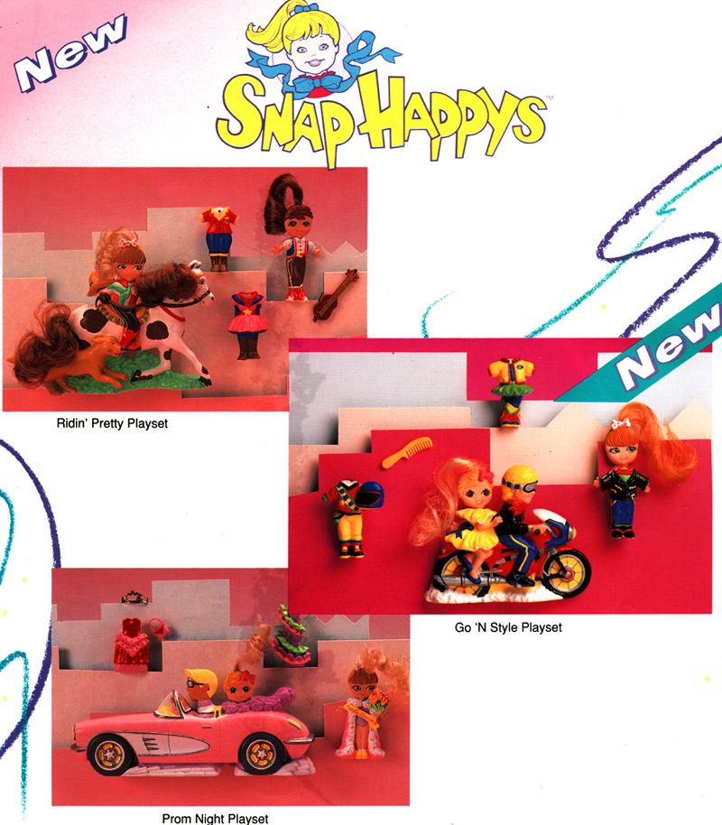 Snap Happys for Galoob toys