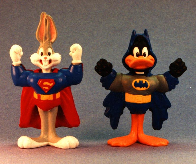 Super Bugs and Super Daffy - McDonalds Happy Meal program