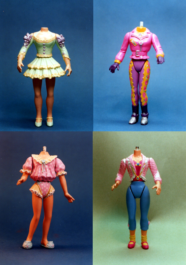 girls doll bodies for Swans Crossings Playmates toys