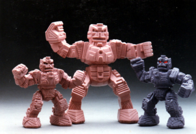 Figure line proposal for TOMY toys not produced