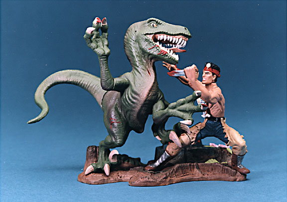 Turok Battle Dinosaur vs Turok for Playmates toys