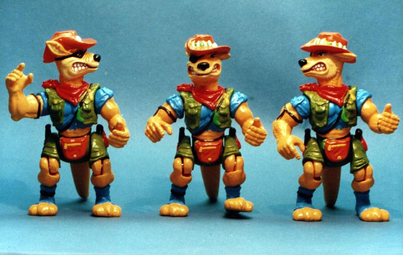 Turtles Kangaroo - TMNT articulated vinyl figures