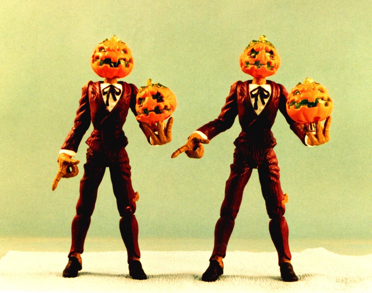Ultraforce pumpkinhead figure - never produced
