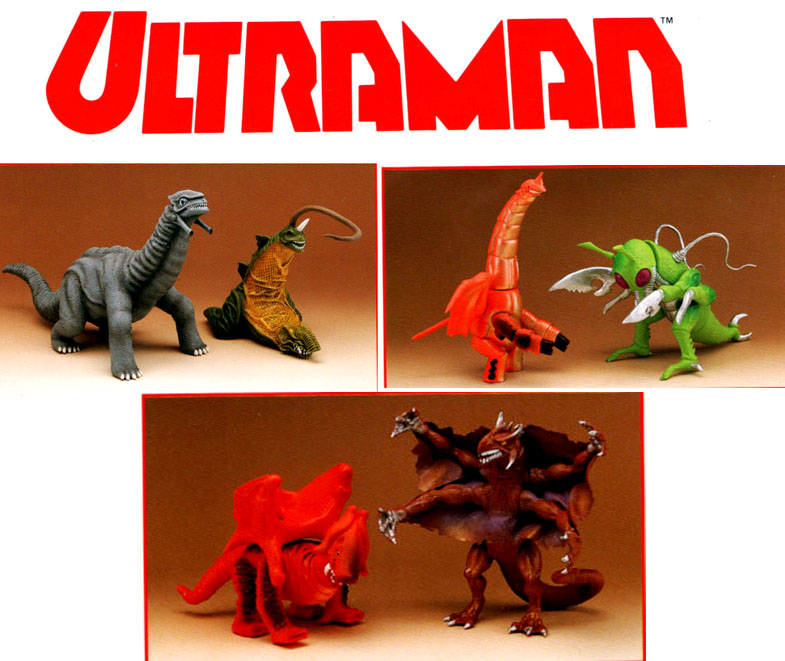 Ultraman monsters for Bandai - Scary Monsters