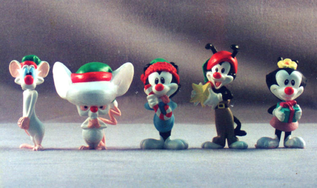 Xmas Animaniacs vinyl Figures