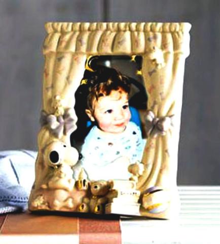 baby picture frame Lenox Ceramics