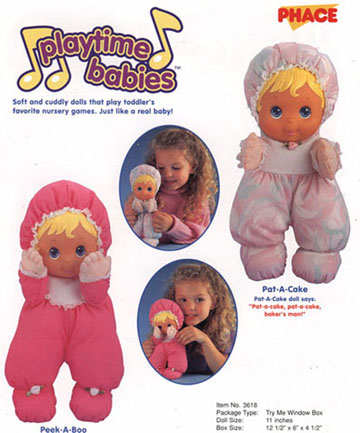 Playtime Babies for Galoob