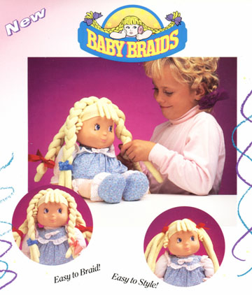 Baby Braids for Galoob