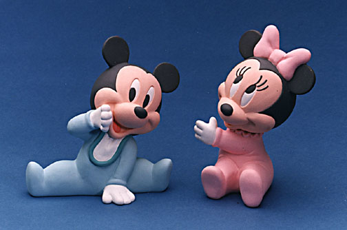 Baby Mickey and Baby Minnie for Teleflora