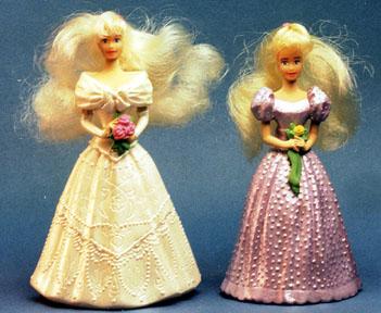 third year Barbie happy meals