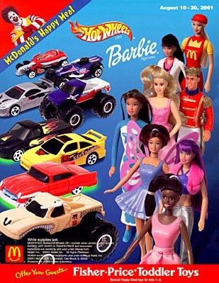 Barbies for McDonalds