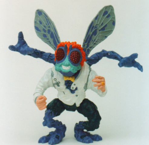 baxter stockman playmates toys tmnt - one of the first bad guys