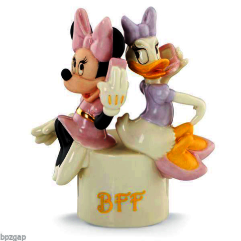 Minnie Mouse and Daisy Duck on the phone Best Friends Forever